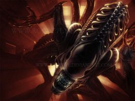 ALIENS: Airducts by RoguePL