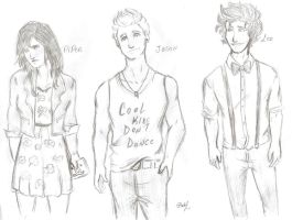 PJO in a Hipster version 2 by odairwho