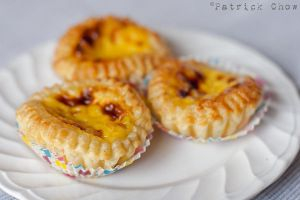 Egg tarts by patchow