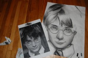 Harry Potter by KimNipp
