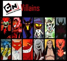 cartoon network villains by THEMADTITAN2070