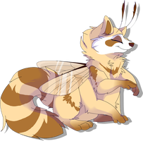 Raccoon Beefly by MBPanther