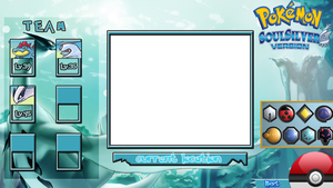 Pokemon Soul Silver Layout by KojiroBlade