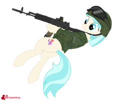 Russian army coco pommel (modified) by orang111