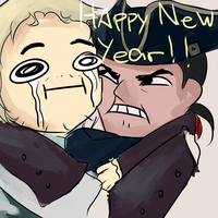 Happy New year! by CaptainPissOff