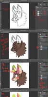 One Layer Painting Tutorial by Armzulite