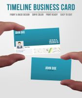 Facebook Timeline Business Card by ditch-designs