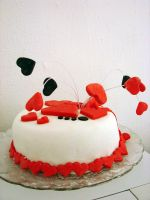 Queen of hearts cake by TulipKenobi