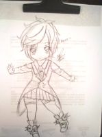 NEW VOCALOID - Anon Chibi version by OriChes