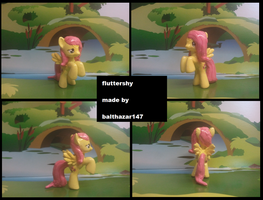 fluttershy by balthazar147