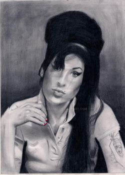 Amy Winehouse by Polders82