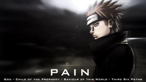 Pain - Naruto Wallpaper by Welterz