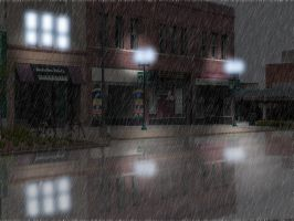 Rain in the City by zolt