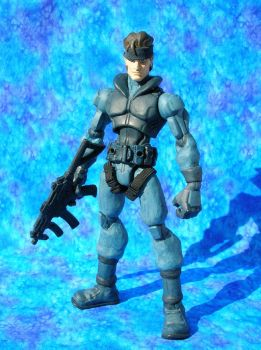 Solid Snake by Arloxjr