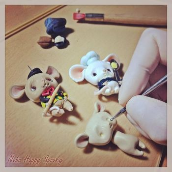 Mouse wip by NobuHappySpooky
