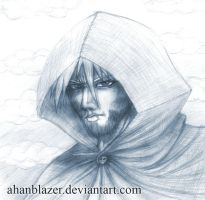 drizzt new pencil by ahanblazer