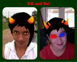 Be Karkat and Sollux by scatteredSparks