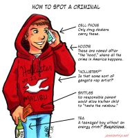 How to Spot a Criminal by ladylaguna
