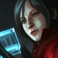 Ada Wong - CG Painting by Kc-Eazyworld