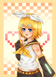 Rin Kagamine by PollitoCosmico