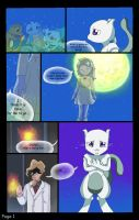Mewtwo Fancomic page 1 by Juddlesart