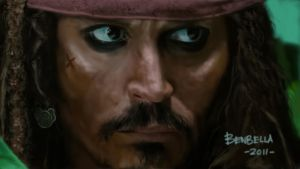 Jack Sparrow On Stranger Tides by Benbella-Marzahan