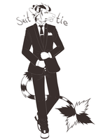 Suit + Tie by Late-Night-Cannibals