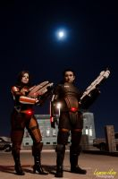 Mass Effect 3: The Shepards by VariaK