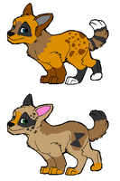 Pups to ~Foxxyheartz by MichelsAdoptions