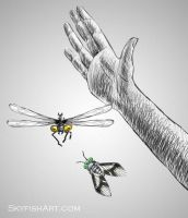 Horse-fly game by Ludjia