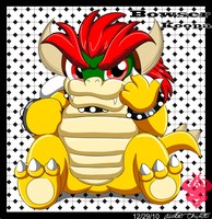 .:Chibi Bowsy:. by Bowser2Queen