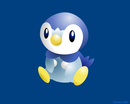 Piplup by Concore