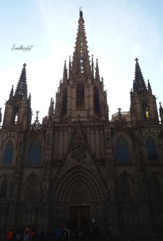 Cathedral of Barcelona by SmallHazelnut