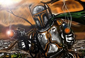 Mando Warrior by DarthMater