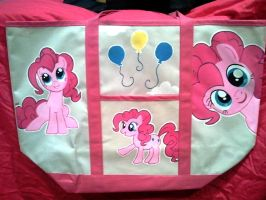Pinkie Pie tote bag commission by Miss-Melis