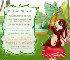 Luna Moth and Hare by DizzyLittleArtist