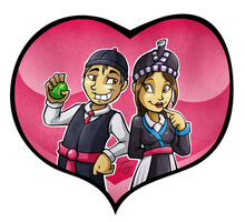 Hmong Love by hooksnfangs