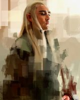 King Thranduil by Namecchan
