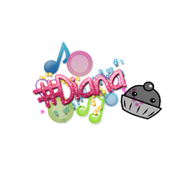 Texto PNG Diana by MyPinkFriday