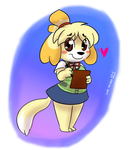 Isabelle by Mr-Shin