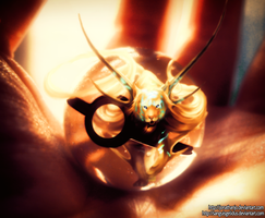 God of Evanescence Pokeball by Jonathanjo