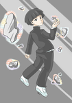 Mob Psycho 100 by indidere