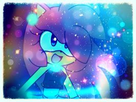 Arya The Hedgehog - Universe.! by AryTheHedgehog29