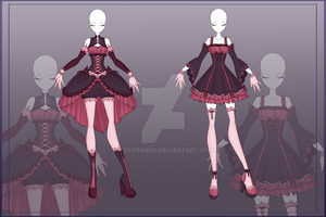 [Close]  Adoptable Outfit Auction 6-7 by LifStrange