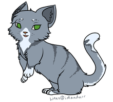 ADOPTABLE Munchkin Cat Design by Officer-Kyle