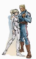 Rogers and Carter by Hensrw