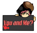 You and Me? Stamp by LonelyBoyLuis
