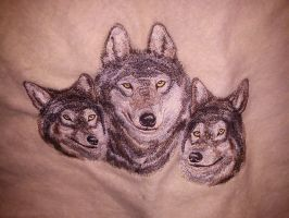 wolfs on shall by daylover1313
