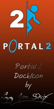 Portal 2 Dock Icon by MoeStrif