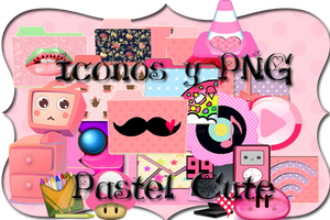 pack iconos y PNG pastel cute by angelxkagura